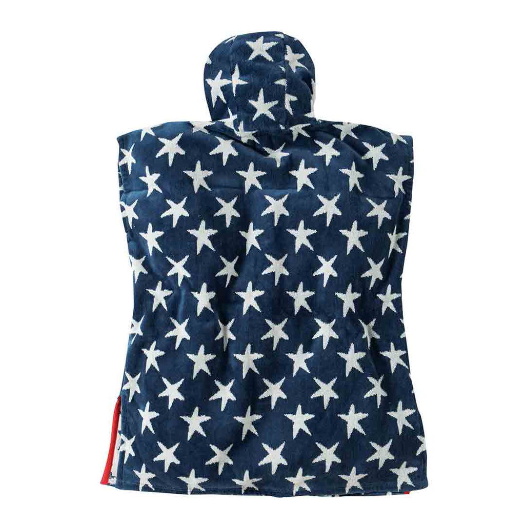 Frugi Havana Hooded Towel - Star Print 1