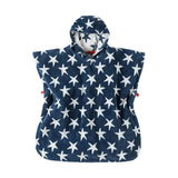 Frugi Little Havana Hooded Towel - Starfish
