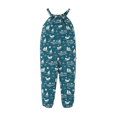 Frugi Jay Jumpsuit - Island Adventure-Rompers- Natural Baby Shower