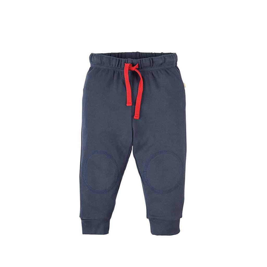 Frugi Kneepatch Crawlers - Navy-Pants- Natural Baby Shower