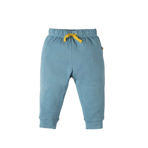 Frugi Kneepatch Crawlers - River Blue-Pants- Natural Baby Shower