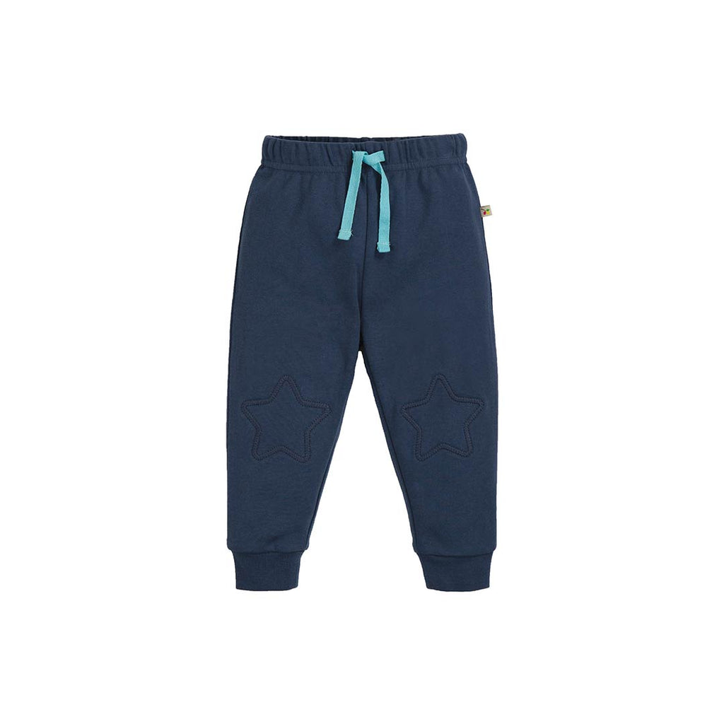 Frugi Kneepatch Crawlers - Space Blue-Pants- Natural Baby Shower