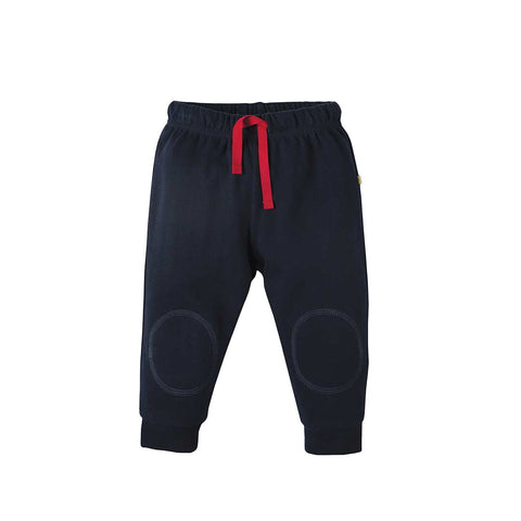 Frugi Kneepatch Crawlers 2018 - Navy-Pants- Natural Baby Shower