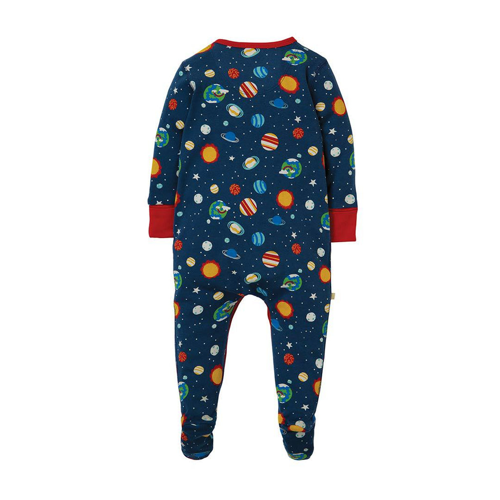 Frugi Lovely Babygrow - Intergalactic-Rompers- Natural Baby Shower