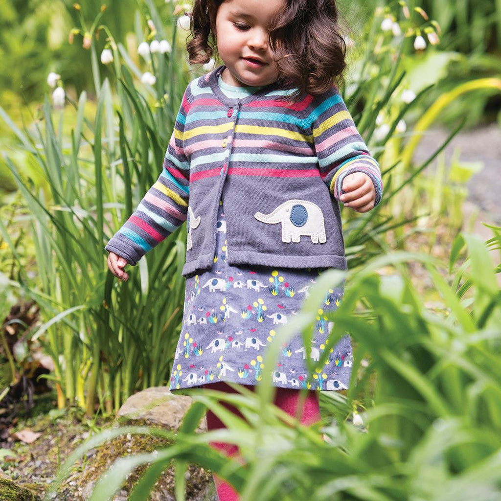 Frugi Molly Cord Pinafore Dress - Elly Savanna Lifestyle