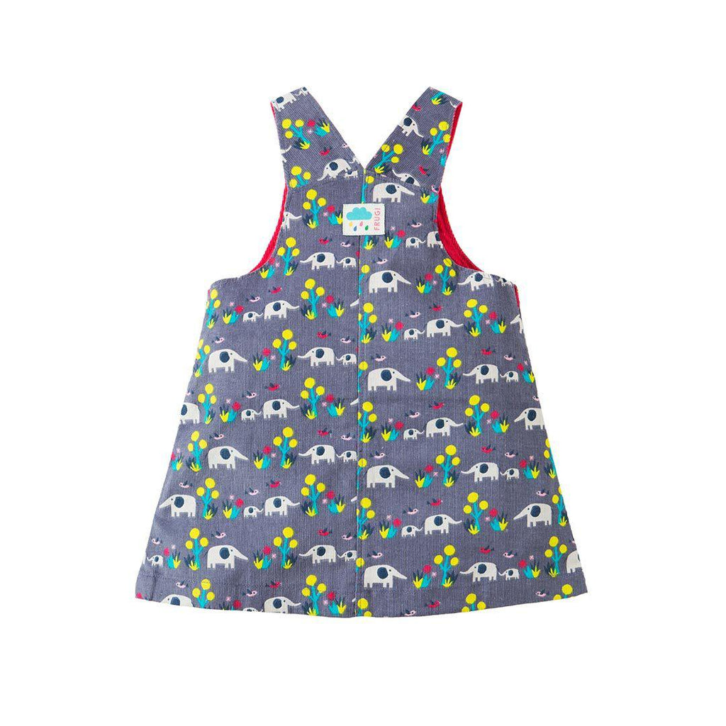 Frugi Molly Cord Pinafore Dress - Elly Savanna