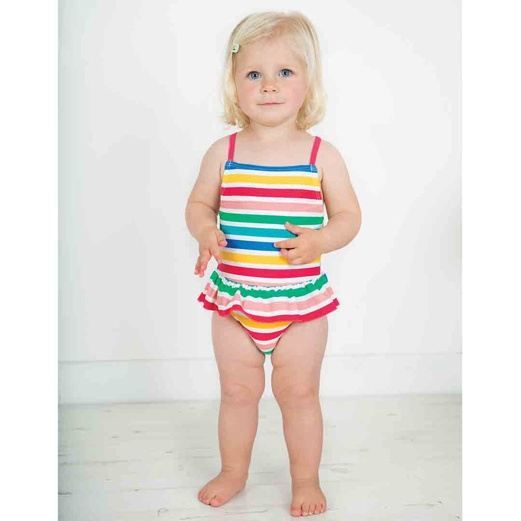 42dabb9518230 ... Frugi Mullion Swimsuit - Summer Stripe-Swimwear- Natural Baby Shower