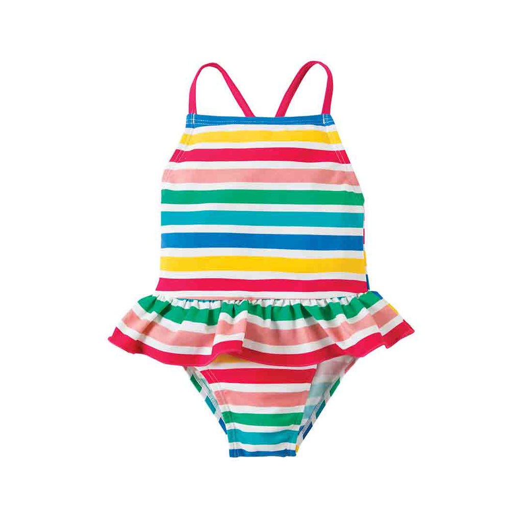 becb062188332 Frugi Mullion Swimsuit - Summer Stripe-Swimwear- Natural Baby Shower ...