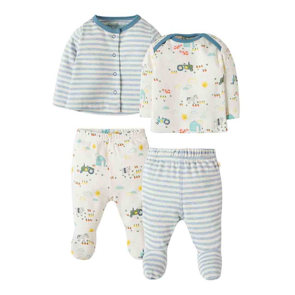 3894e8a48dc1 Frugi My First 4 Piece Set in Harvest Time – Natural Baby Shower