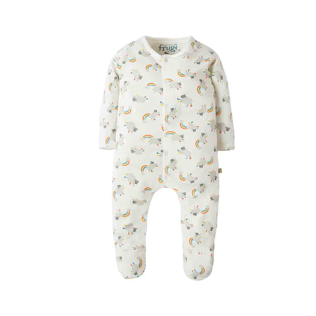 5c08a8ecb354 Frugi My First Babygrow in Little Lambs – Natural Baby Shower