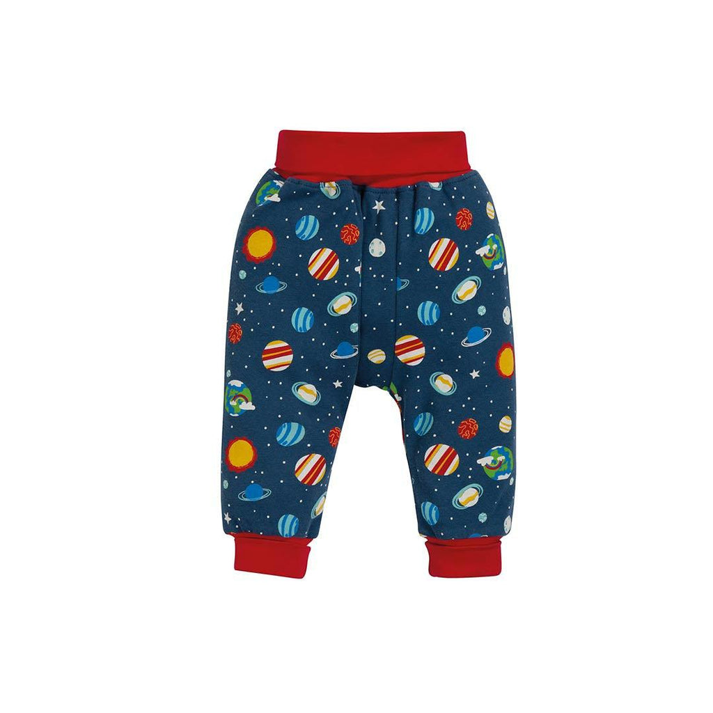 Frugi Parsnip Pants - Intergalactic-Pants- Natural Baby Shower