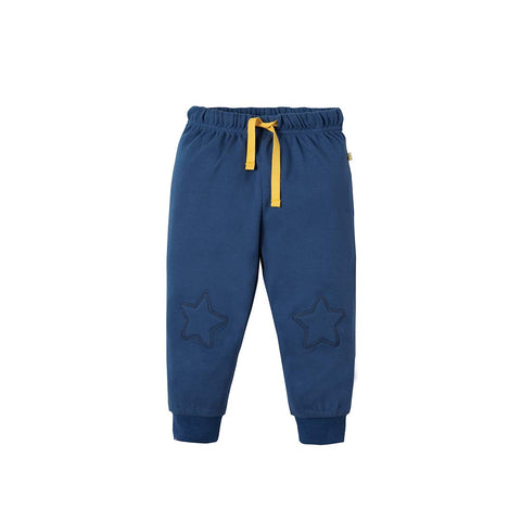 Frugi Playtime Kneepatch Crawlers - Marine Blue-Pants- Natural Baby Shower