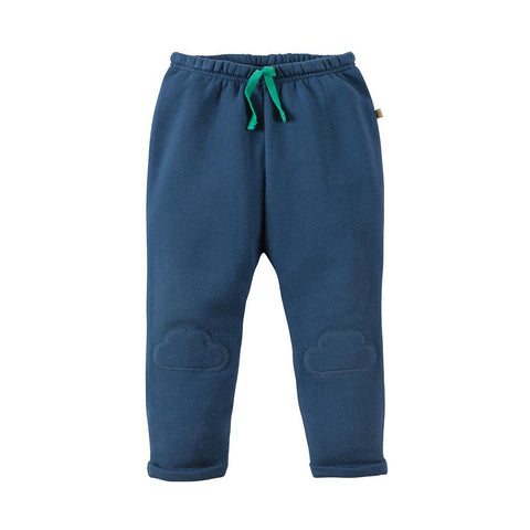Frugi Playtime Kneepatch Crawlers - Navy-Pants- Natural Baby Shower
