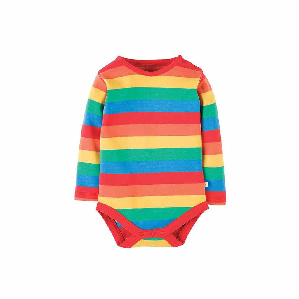 Frugi Rainbow Body - Rainbow Stripe