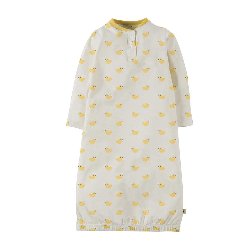 1a584e2117f5 Frugi Sleepy Baby Gown in Bobbing Along – Natural Baby Shower