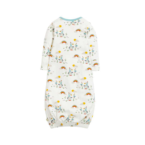 Frugi Sleepy Baby Gown - Delightful Dodos-Sleep Gowns- Natural Baby Shower