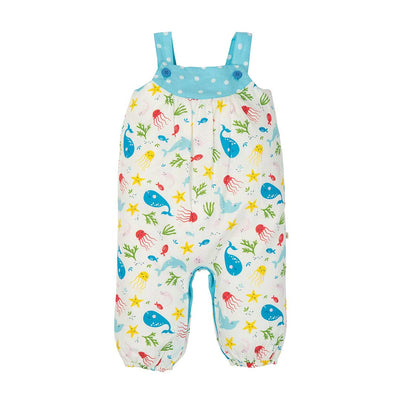 Frugi Springtime Dungarees - Splashing About-Dungarees- Natural Baby Shower
