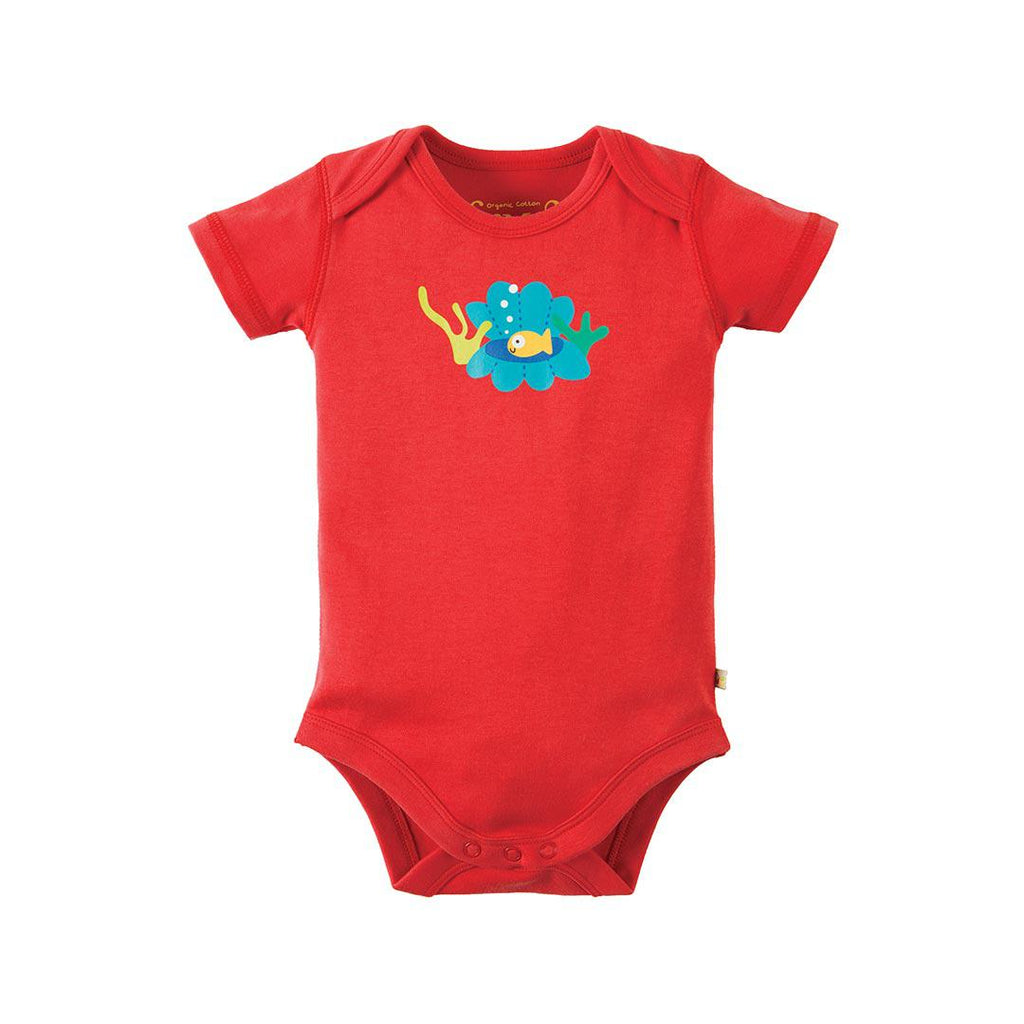 Frugi Super Special Bodies - Otter - 3 Pack 2