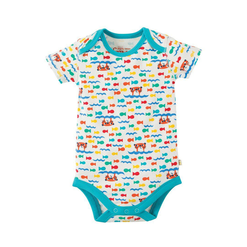 Frugi Super Special Bodies - Otter - 3 Pack 3