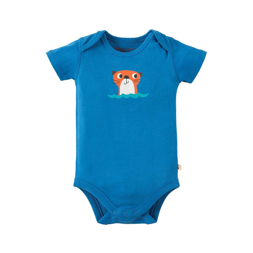 Frugi Super Special Bodies - Otter - 3 Pack 4