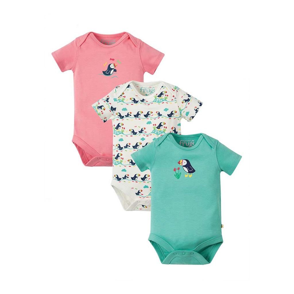 eb40b8ac70ef Frugi Super Special Bodies in Puffin - 3 Pack – Natural Baby Shower