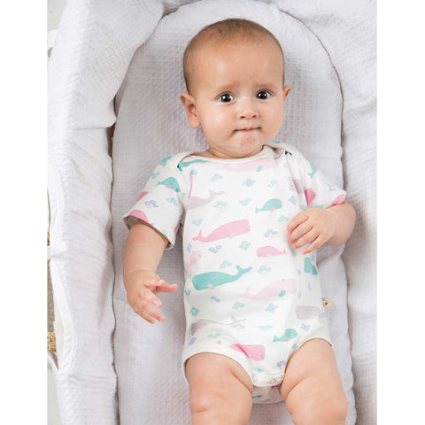 Frugi Teeny Bodies - Little Whale - 2 Pack Lifestyle