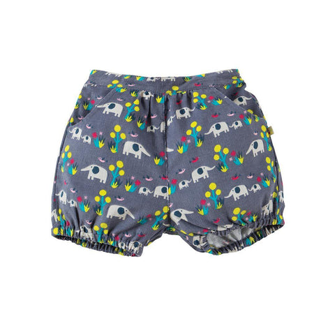 Frugi Willow Cord Bloomers - Elly Savanna