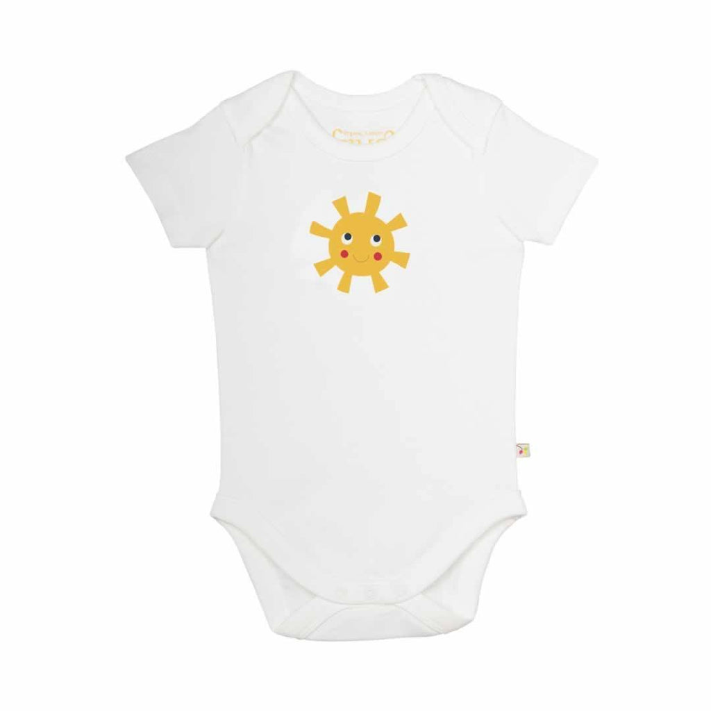 Frugi Bodies Sunny Buzy Bee 3 Pack - Sun