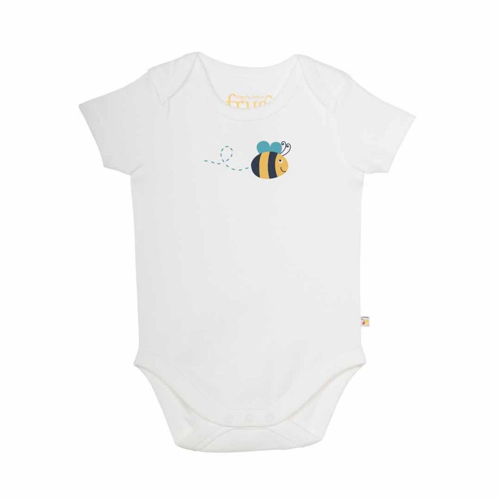 Frugi Bodies Sunny Buzy Bee 3 Pack - Bee
