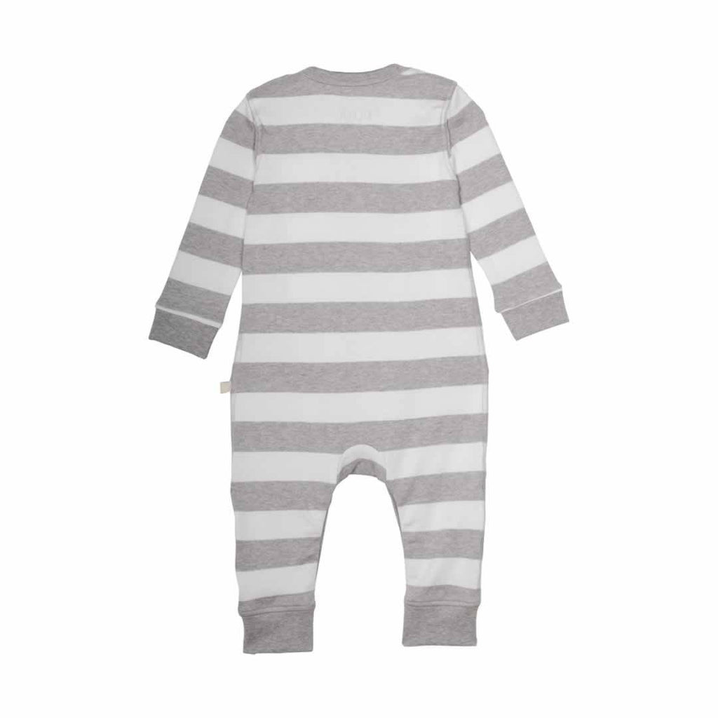 Frugi Bubbly Baby Gift Set in Grey Marl Stripe