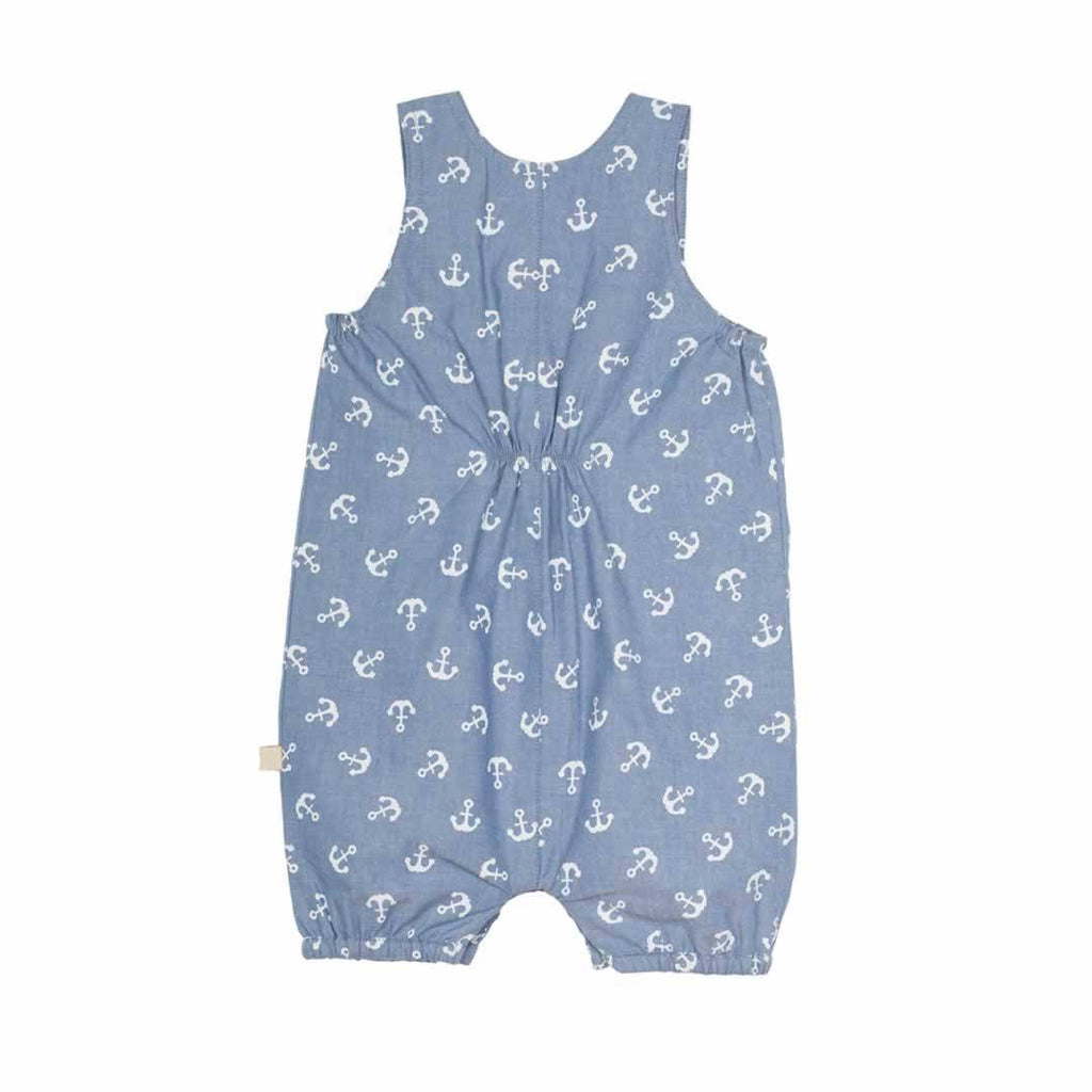 Frugi Cadgwith Dungarees Anchors Away