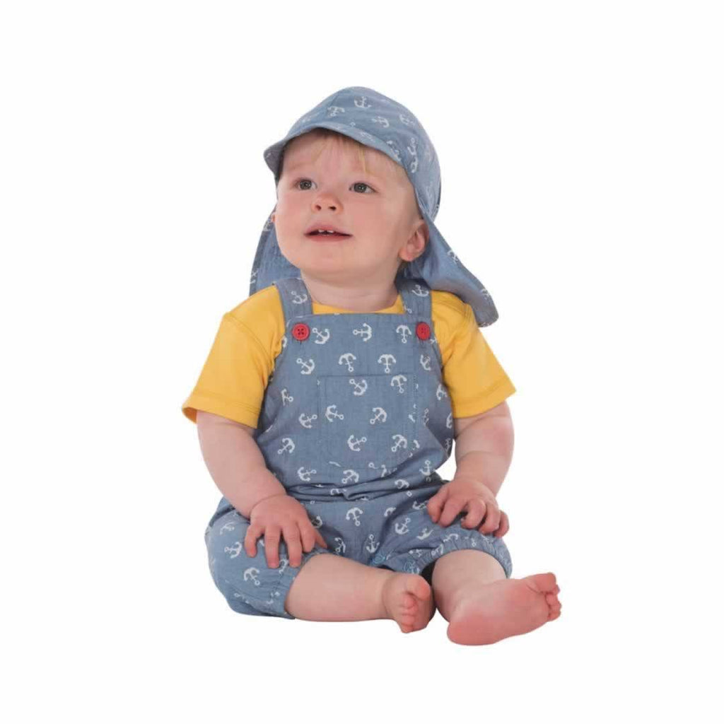 Frugi Cadgwith Dungarees Anchors Away Lifestyle