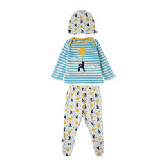 Frugi Cosy Toes Gift Set in Up and Away