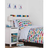 Frugi Cot Bed Set Campervan