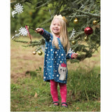 Frugi Crawl Away Tights - Raspberry Cat Lifestyle