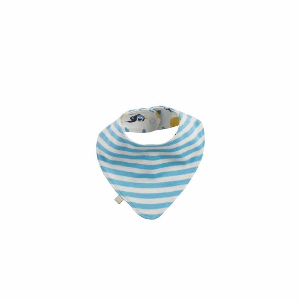 Frugi Dribble Bib in Up and Away