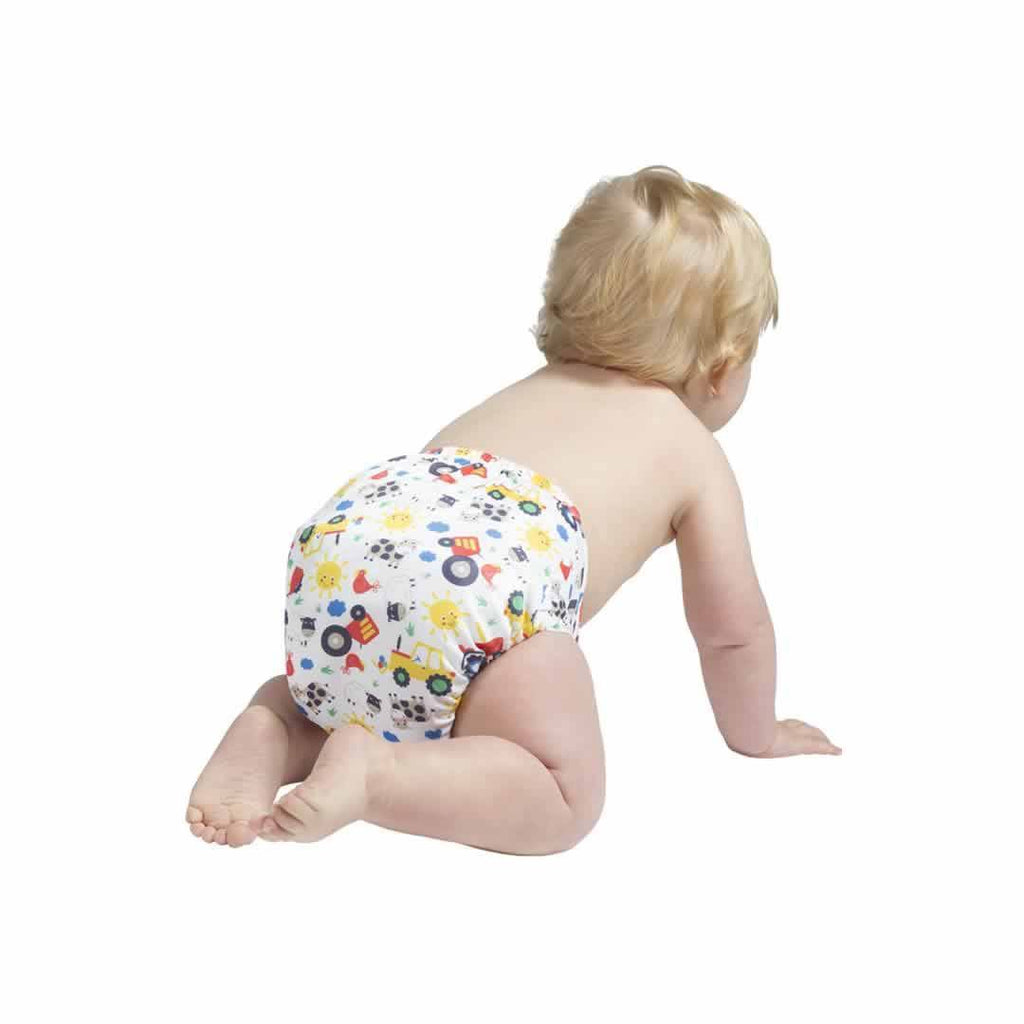 Frugi Easyfit V4 Nappy - Farm Friends Lifestyle