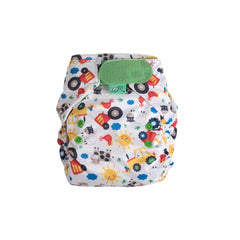Frugi Easyfit V4 Nappy Farm Friends