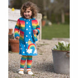 Frugi Happy Day Cardigan Rainbow Stripe Lifestyle