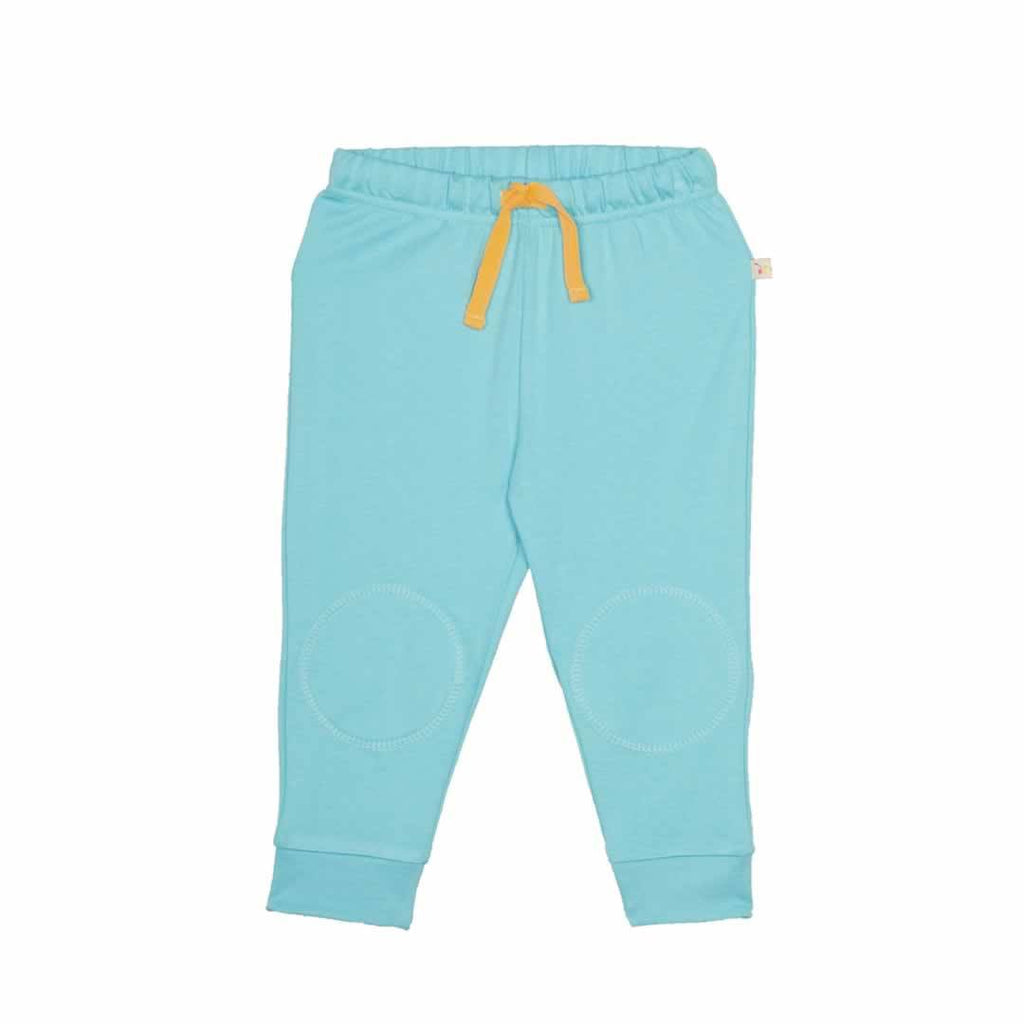 Frugi Kneepatch Crawlers in Aqua