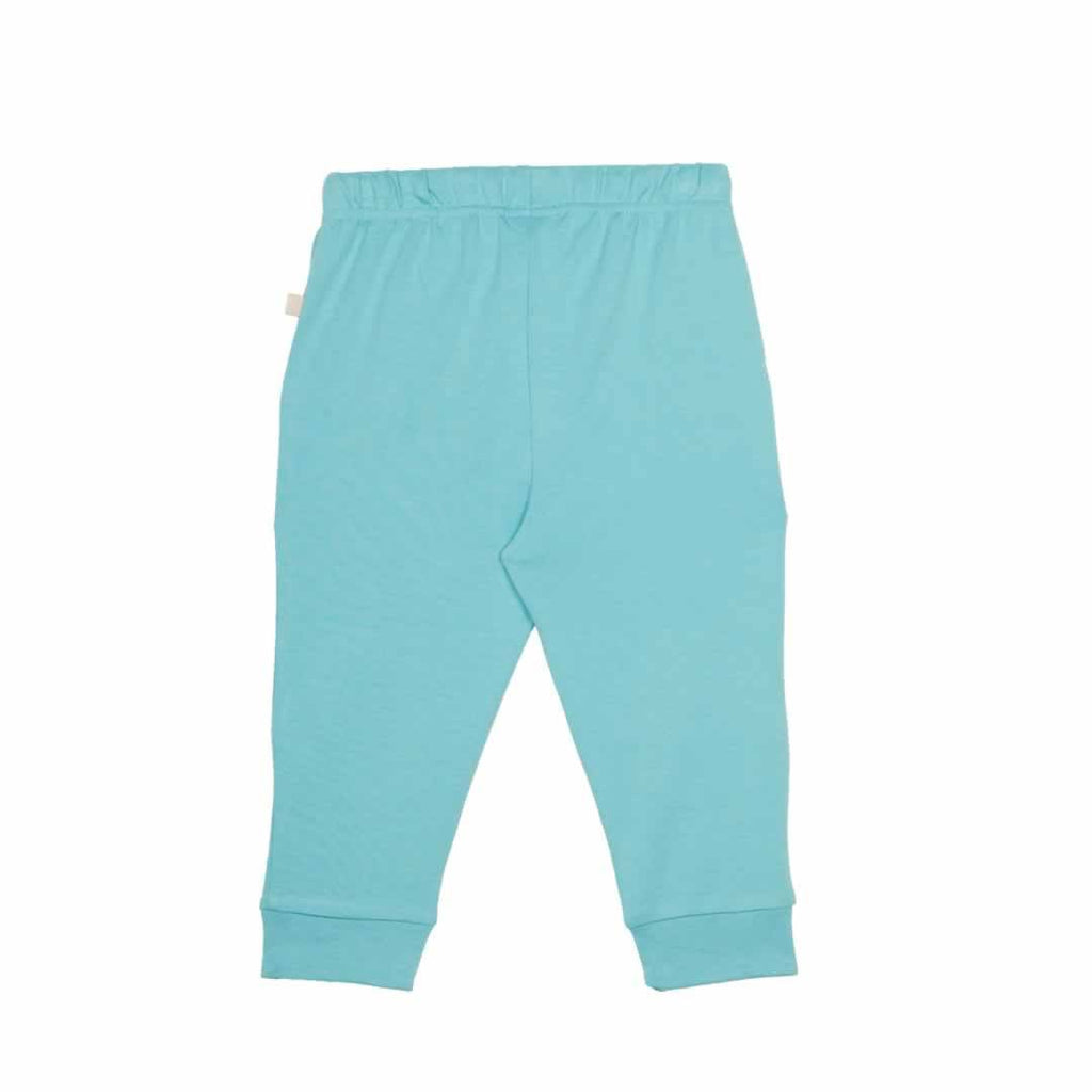 Frugi Kneepatch Crawlers Aqua Back