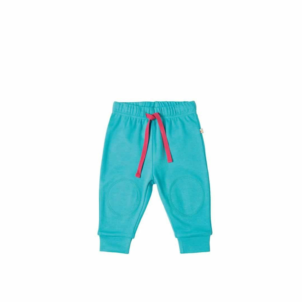 Frugi Kneepatch Crawlers - Cornish Sea - Trousers & Leggings - Natural Baby Shower