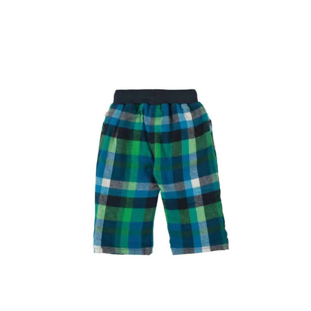 Frugi Little Checked Snugs - Field Multicheck - Bottoms - Natural Baby Shower