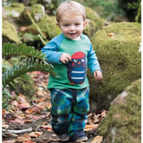 Frugi Little Checked Snugs - Field Multicheck Lifestyle