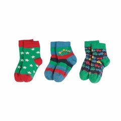 Frugi Little Socks Cars - 3 Pack