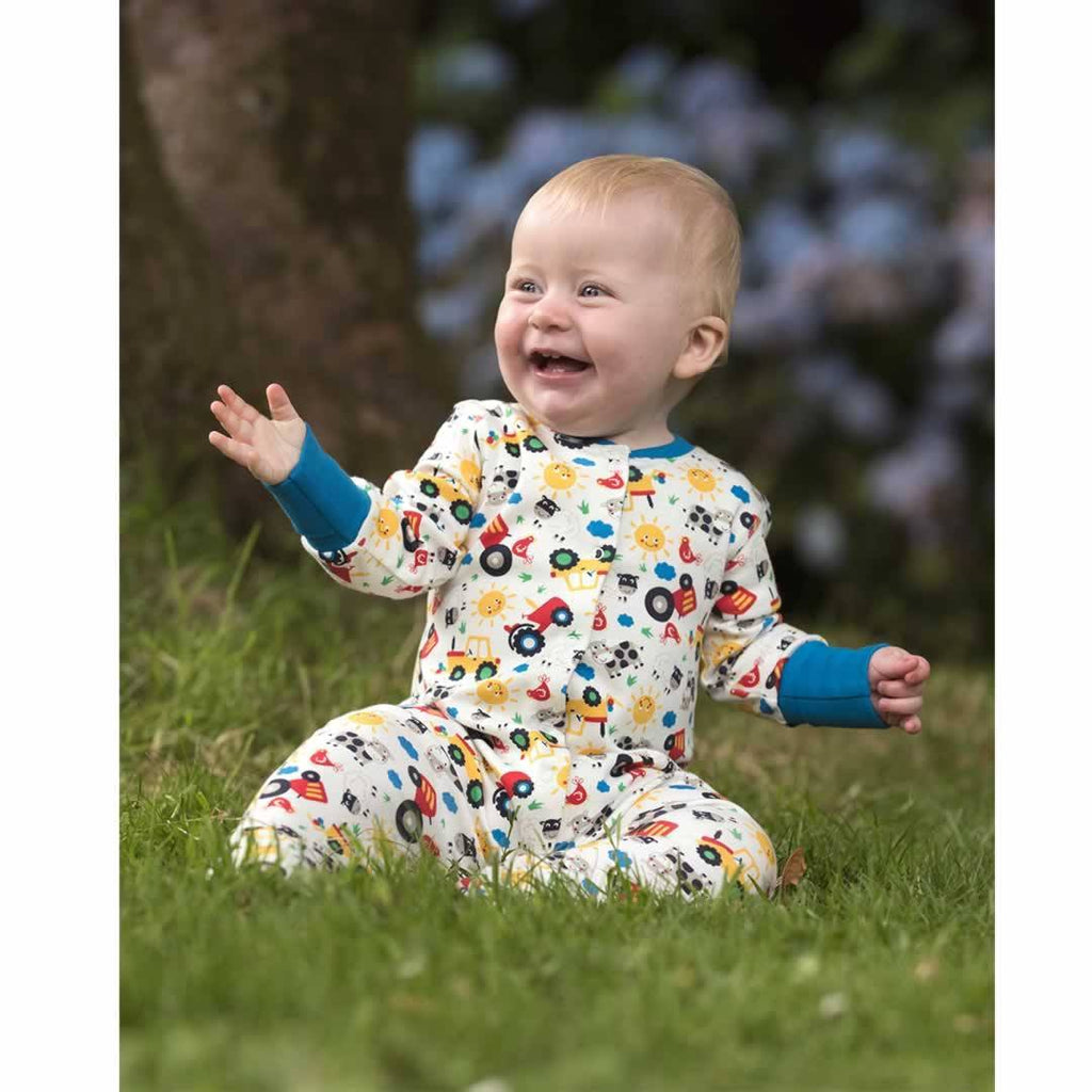 Frugi Lovely Babygrow - Farm Friends Lifestyle