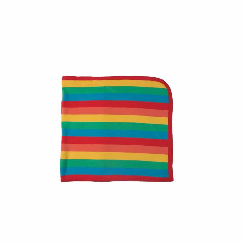 Frugi Lovely Blanket in Happy Rainbow