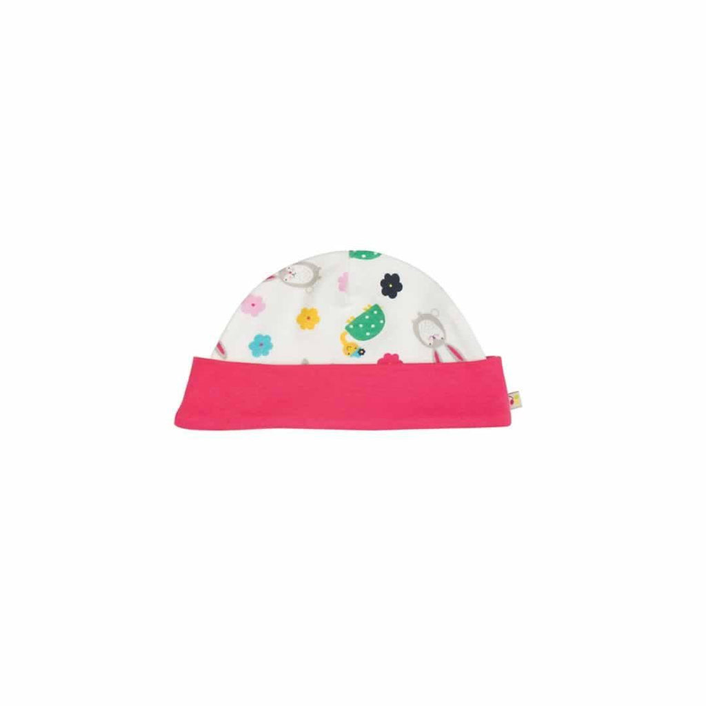 Frugi Lovely Hat Hare and Tortoise