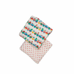 Frugi Lovely Muslins Alphabet Train - 2 Pack