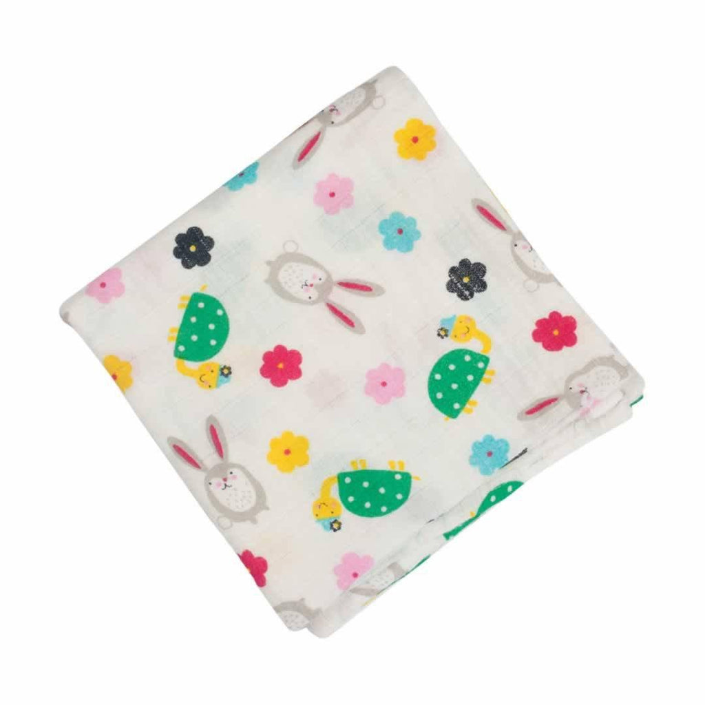 Frugi Lovely Muslins - Hare and Tortoise 2 Pack